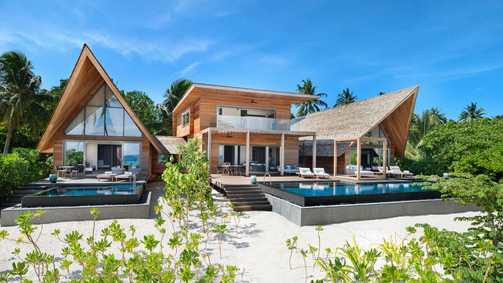 Three Bedroom Maldives Villa